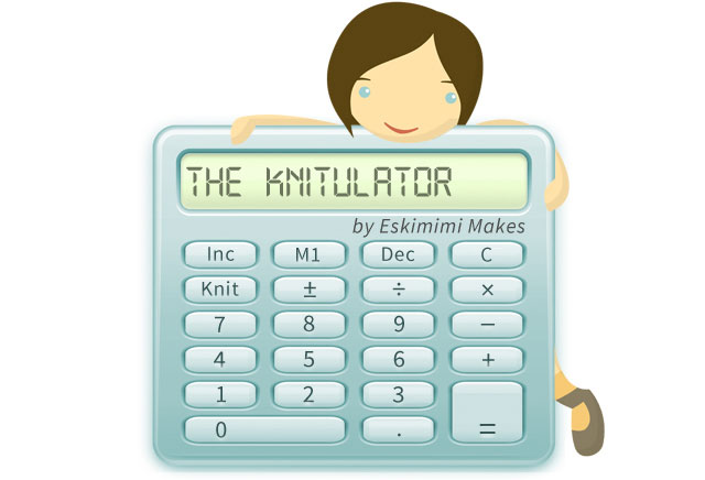 Knitting Calculators : Introducing the knitulator automatic increase and